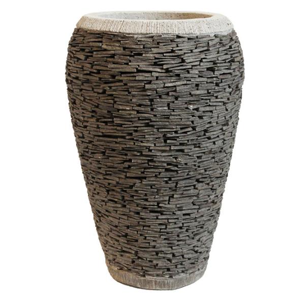 Cement Pots - Concrete Planters - Grc Pot - Pebble Pot - Wholesale Pottery - Outdoor Planters
