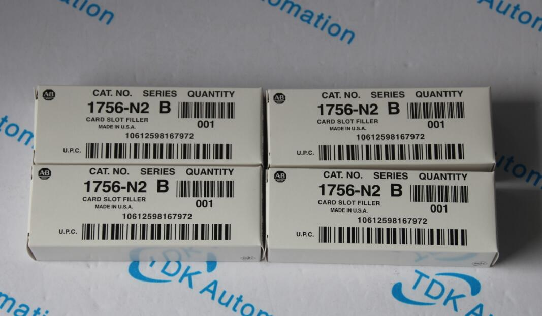 Rockwell Allen Bradley PLC 1756-N2 B series, MADE IN USA