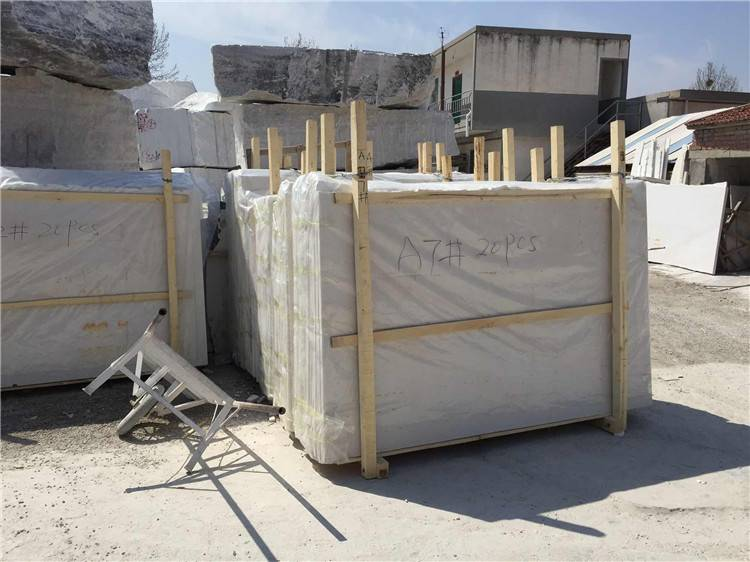 white marble slab &white marble with grey veins