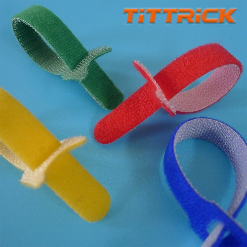 Tittrick Magic Easy-to-Use Cable Ties Reusable Hook and Look