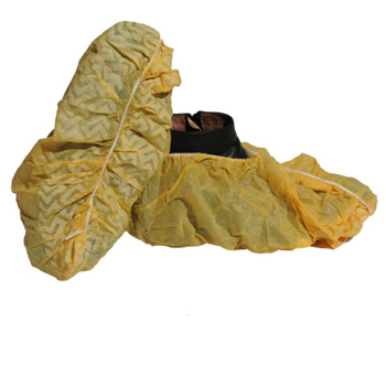 China manufacturer machine made PE shoe cover for sale