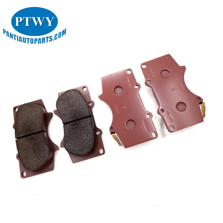 No noise No asbestos No Damage To Braking Discs Front Brake Pads For 04465-35290