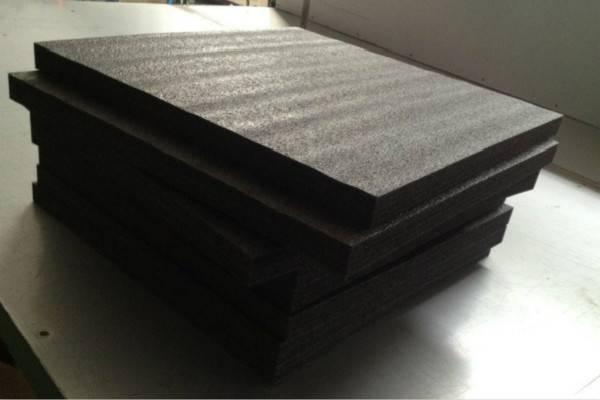 black epe foam sheet polyethylene foam packaging material