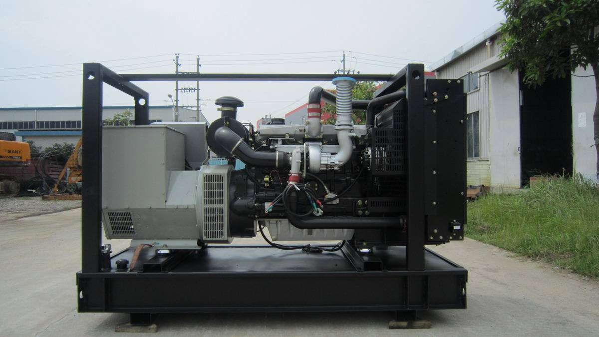 Generation Powered By Lovol 1006TAG1A Brand Diesel Egine Three Phase Alternator 60Hz