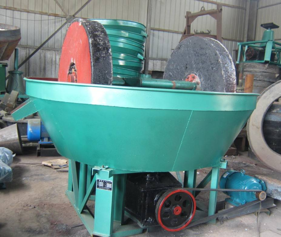 Gold Ore 1200 Model Wet Pan Mill/ Gold Grinding Mill Machine/ Gold Edge Runner Wet Mill from Manufac