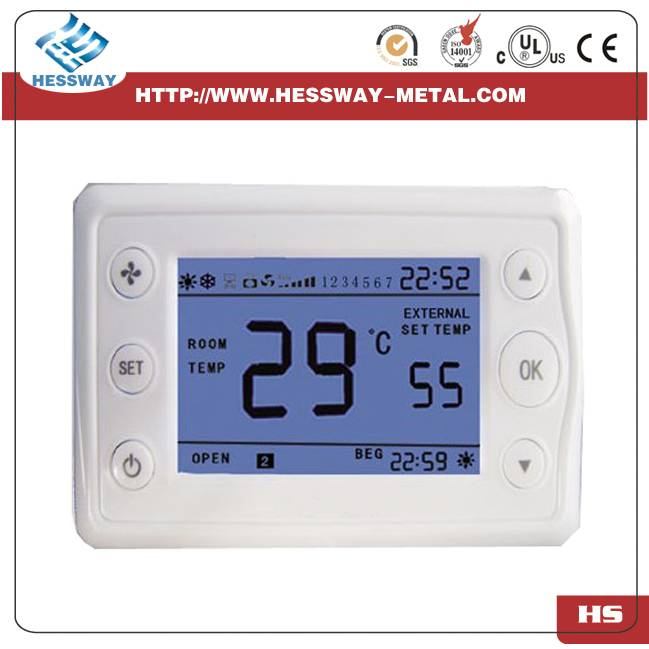Electric Heating Element with Thermostat, Double Temperature Double Control Thermostat,thermometer