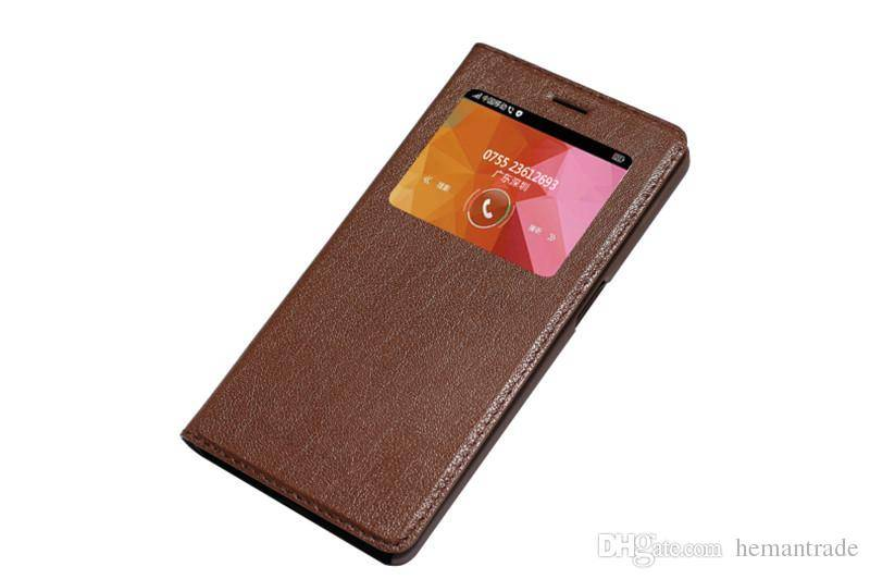 Flip Leather Case for OPPO R7S Cell Phone Genuine Leather Case with Stand Holder Luxury Cellphone Ca