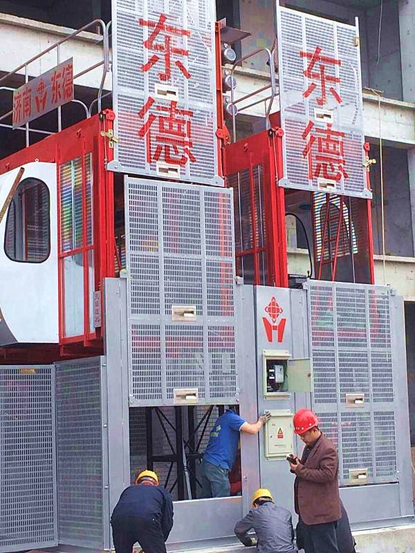 High quality construction lift in good price