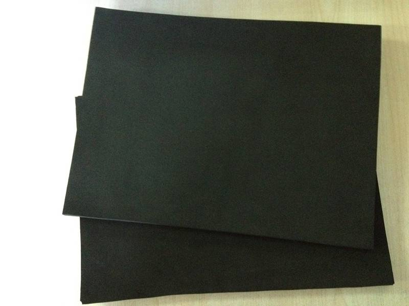 black good elastic CR rubber foam