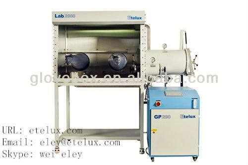 Etelux stainless steel vacuum glove box-lab2000