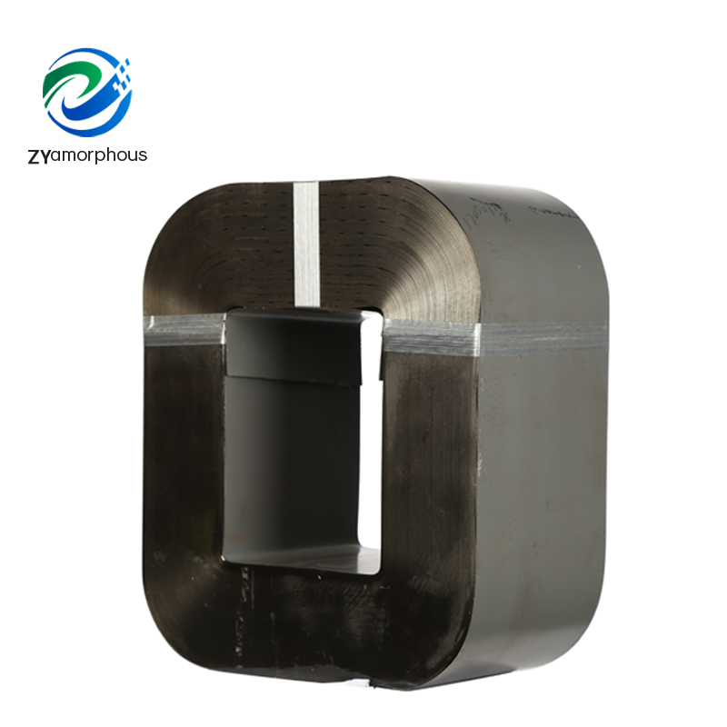 Amorphous Iron Alloy Core of the Transformer