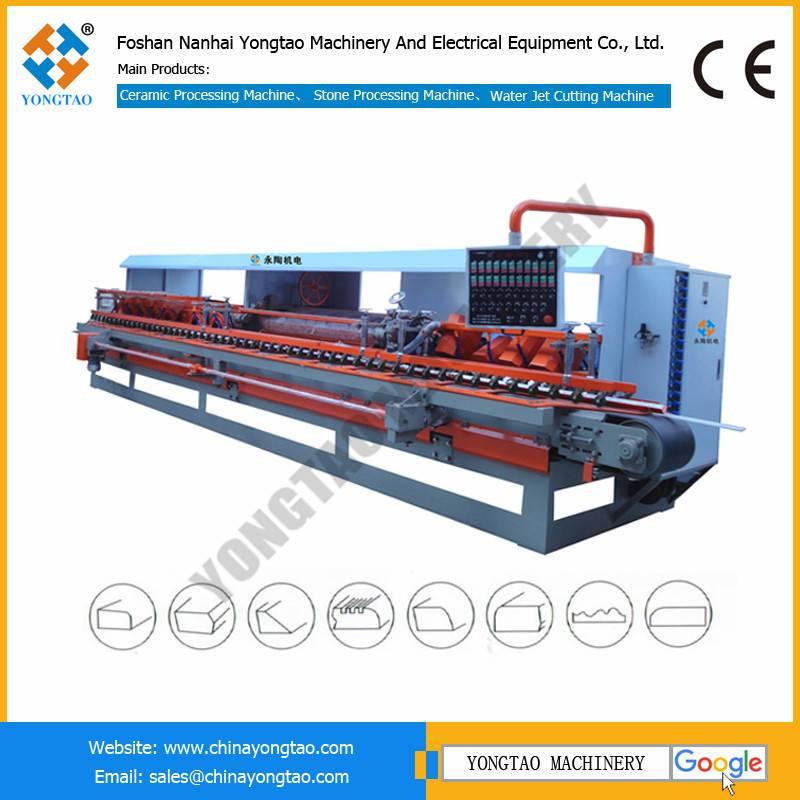YKH-1200 ceramic tile bullnose polishing machine for stair