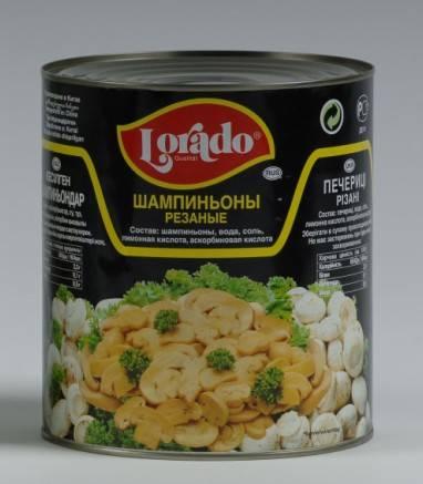 canned mushroon