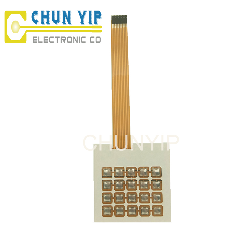 12mm push button custom membrane switch circuit
