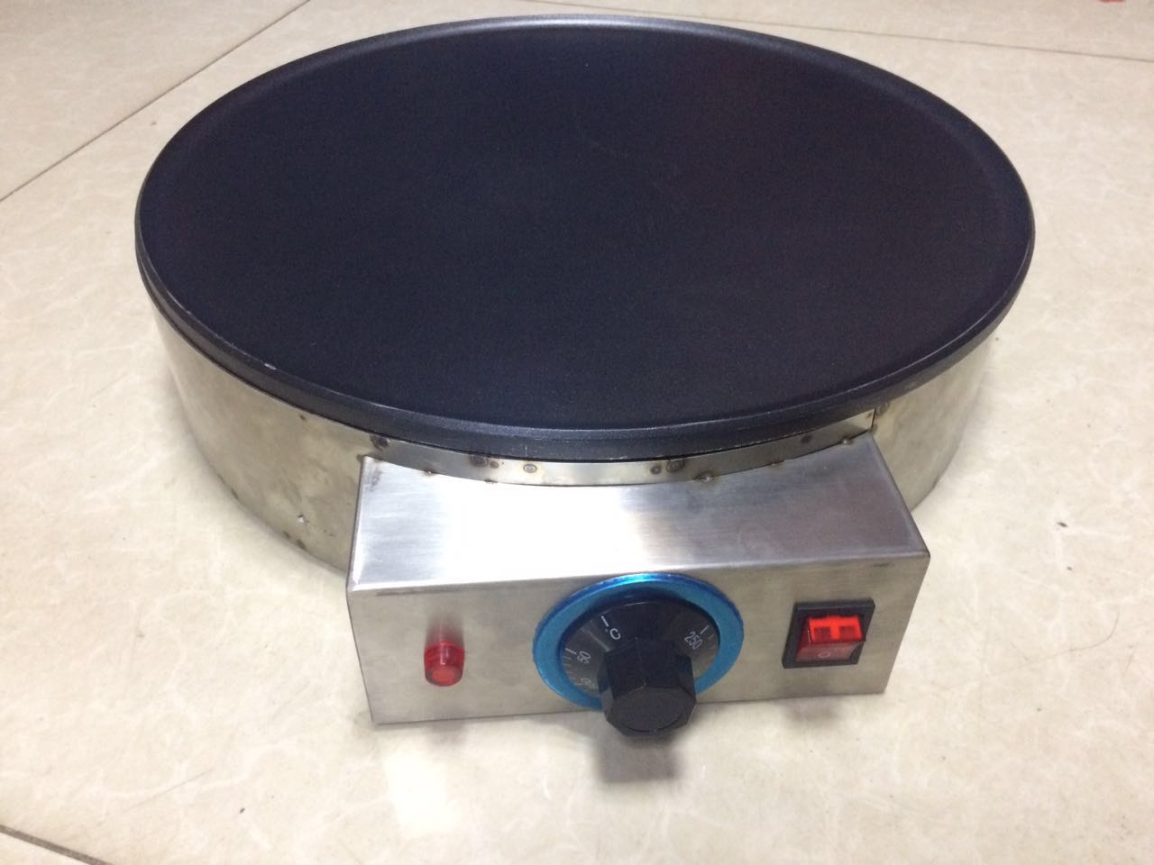 Crepe maker customized sheet metal fabrication parts