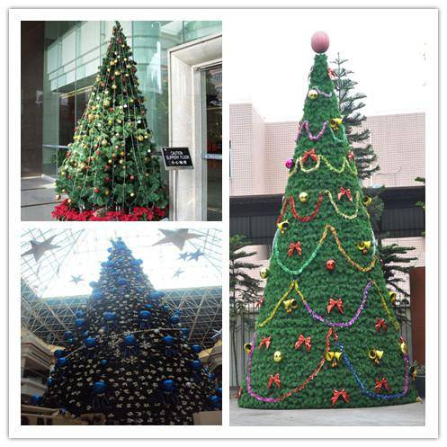 artificial christmas tree (with different styles)