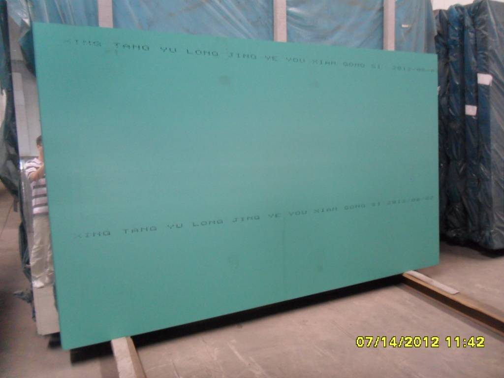 large Aluminium mirror glass sheet