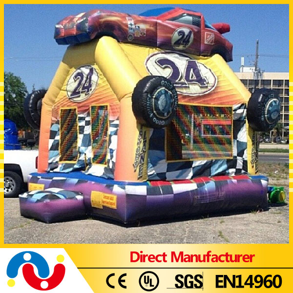 High quality commercial inflatable bouncy castle for kids