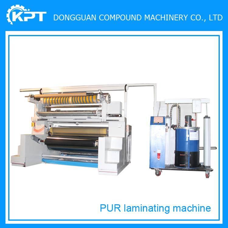 pur hot melt glue laminating machine