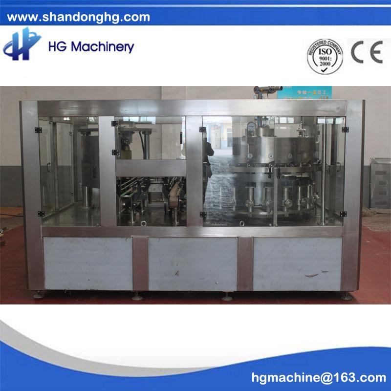 Carbonated drink filling line