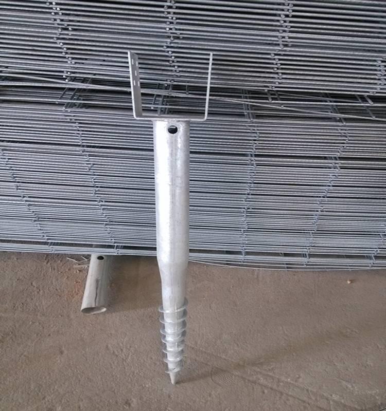 steel galvanzied ground screws