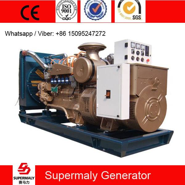 CE Approved 120KW 150KVA Natural Gas Generator set by Cummins Engine with CHP system