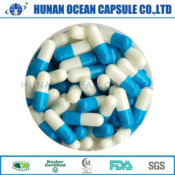 2016 hot sale Gelatin empty capsule shell pharmaceutical raw material