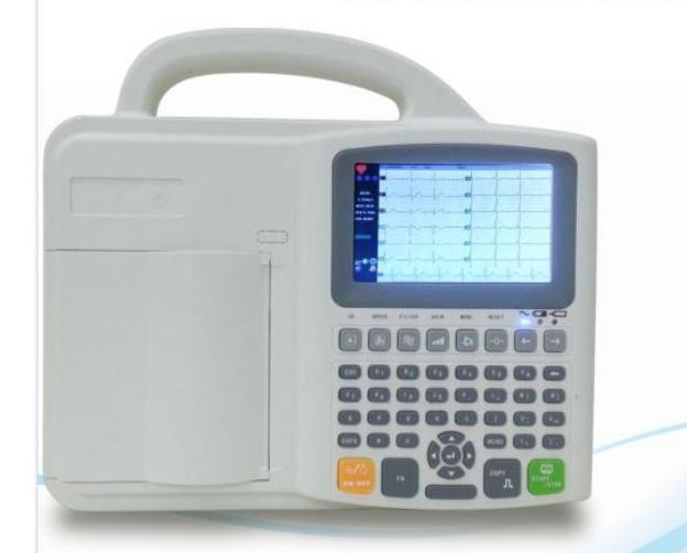 Six Channel Digital Portable ECG Machine YSDE601c