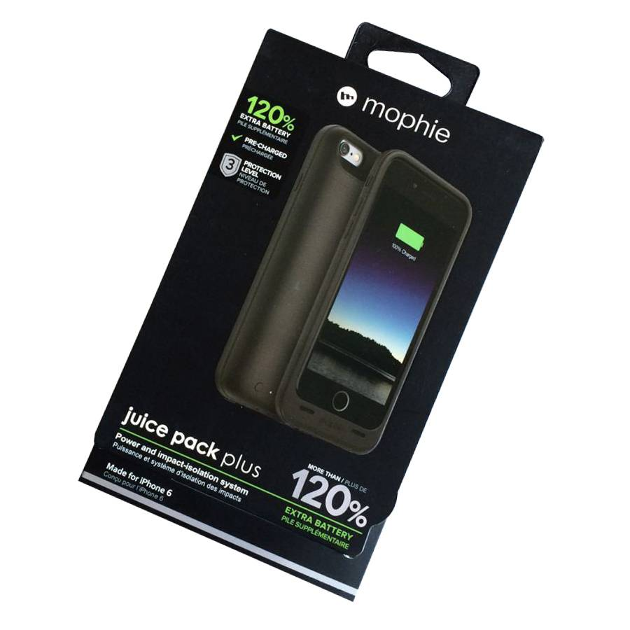 mophie juice pack plus 3300mAh battery packs for iPhone 6 6s