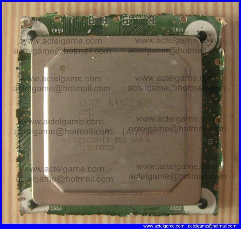 Nintendo Wiiu CPU GPU C10234F5-852-UAA-A repair parts