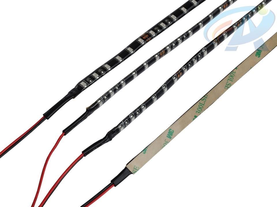 UV+CW Double Circuit DC12V 4.32W IP65 Flexible LED Strip