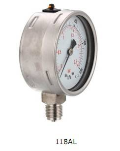 Liquid filled gauge.All stainless steel ,High quality