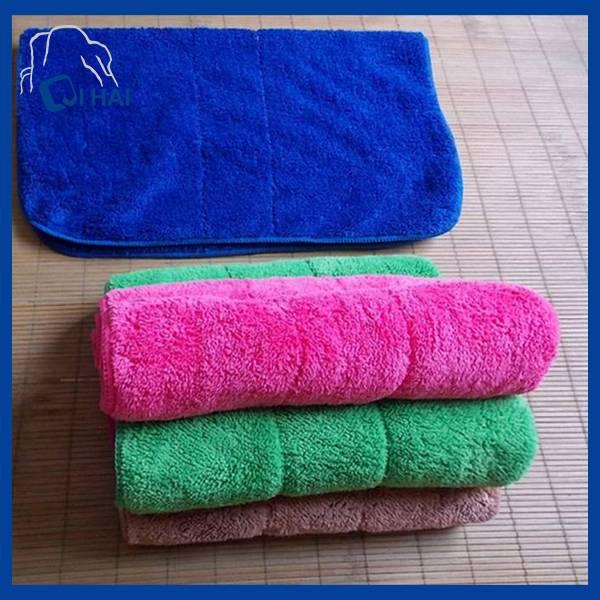 Microfiber Coral Fleece Floor Cleaning Mop (QHS99898)