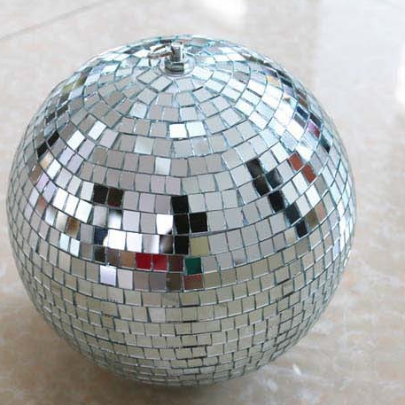 Ballroom Mirror Ball Light Mirror Reflection Glass Ball