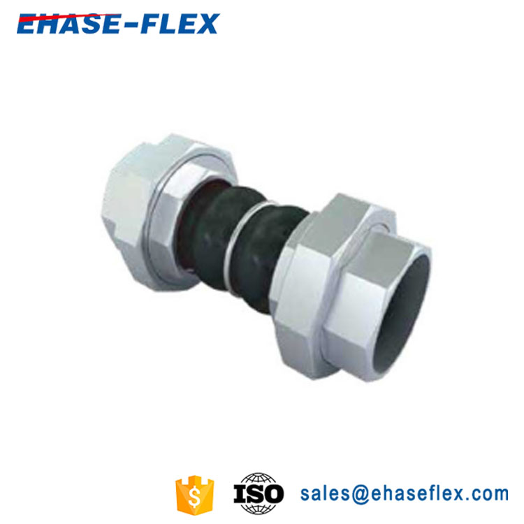 EH-30/30H Union Thread Double Sphere Rubber Expansion Joint
