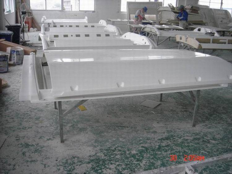 FRP bus air-condition body shell
