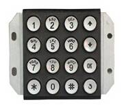 4X4 matrix telephone keypad