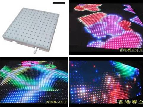 P28mm LED Sensor Dance Floor