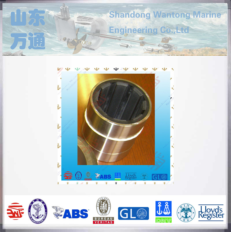 naval water lubricated copper bushing cutless rubber bearing