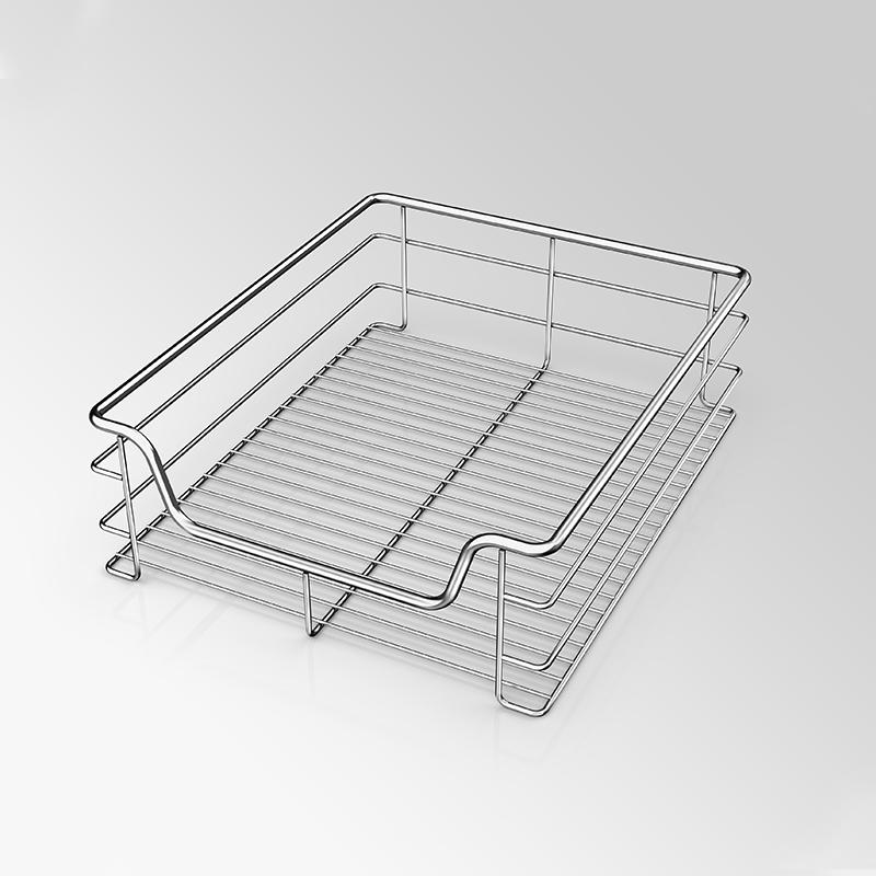 Stainless Steel Wire Kitchen Drawer Basket