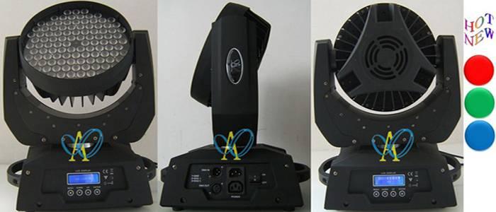108pcs 1W 3W RGB LED moving head wash