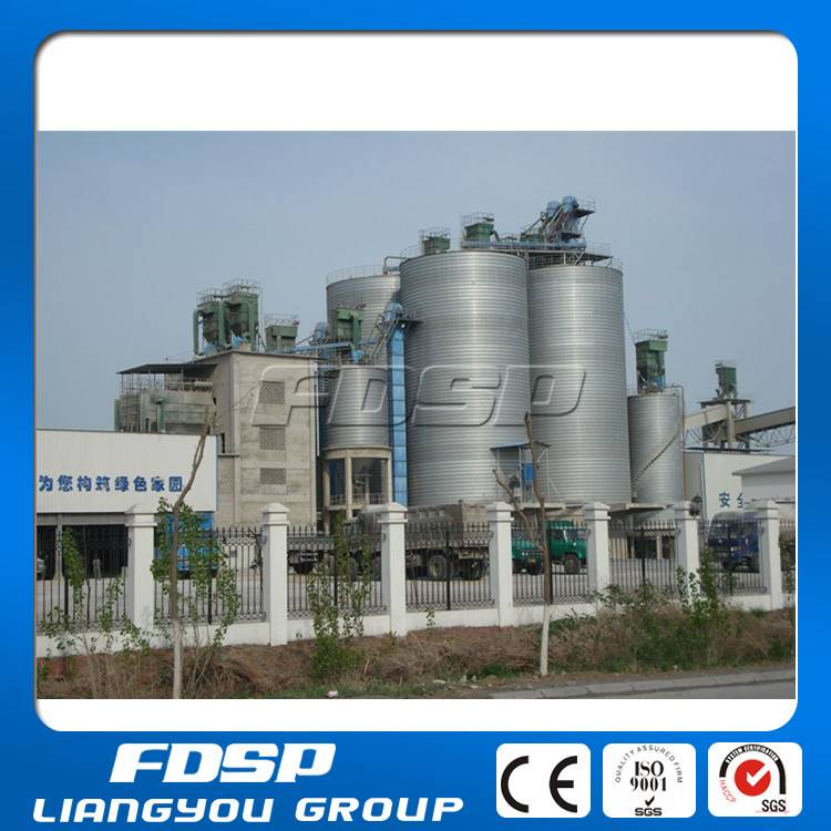 Fodder plant used steel silos to storage all kinds of cereals