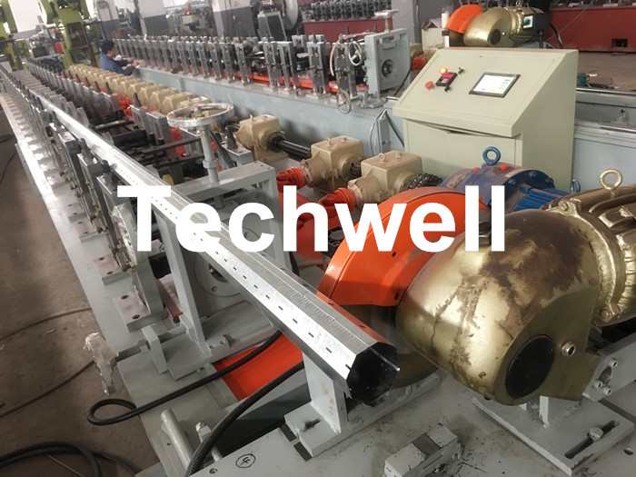 0.4-1.2mm Octagonal Tube Pipe Roll Forming Machine Equipment