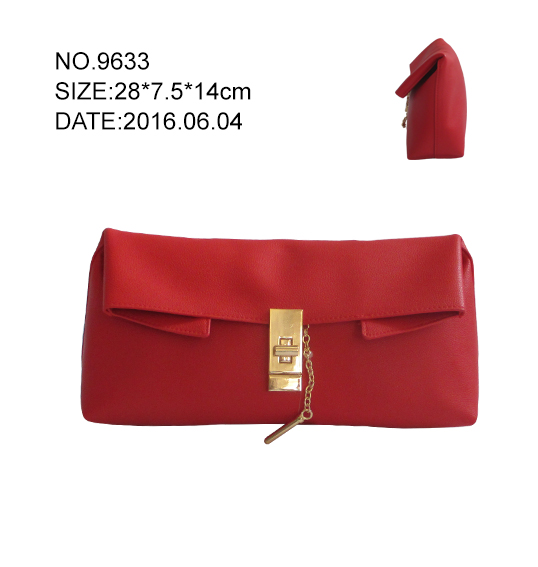 Women's Red Clutch Bag