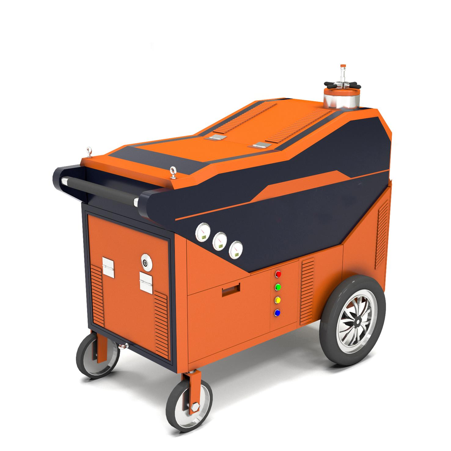 Portable Waterjet Cutting Machine For Natural Gas Line Cutting