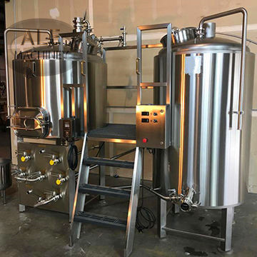 Jinan ALE Automatic Control Beer Brewhouse 2bbl Electric Brewing System