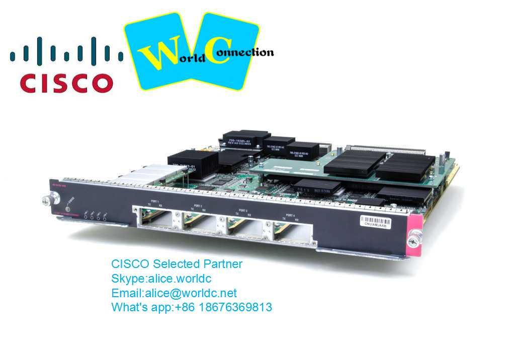 WS-X6704-10GE= CISCO CATALYST 6500 SERIES 10 GIGABIT ETHERNET INTERFACE MODULE
