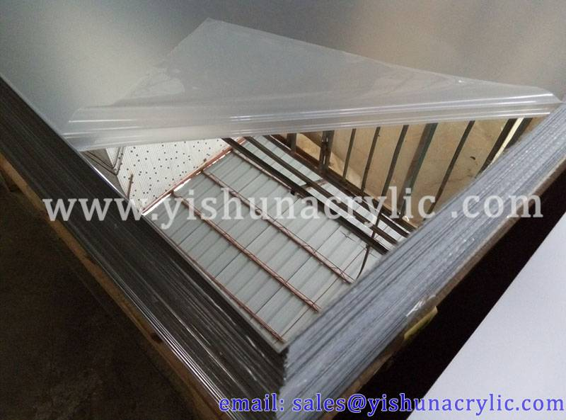 scratch resistance mirror acrylic plexiglass sheet