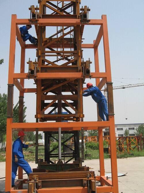 3t-25t Inside climbing tower crane inner climbing tower crane