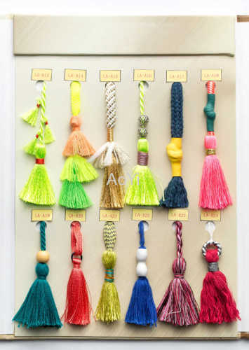 Cotton Crochet Braided Tassel Fringe